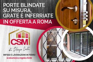 CSM Diego Celi infissi Roma - Porte blindate su misura, grate e ...